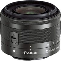 Canon EF-M15-45mm F3.5-6.3 IS STM